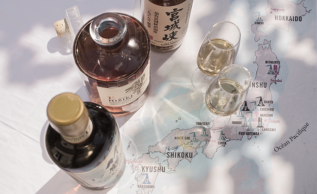 Whisky Japon art